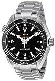 Omega Mens 232.30.42.21.01.001 Seamaster Planet Ocean Black Dial Watch