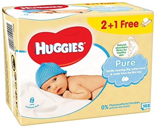 huggies-salviette-pure-3-pacchi-da-56-pezzi
