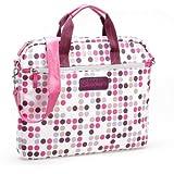Skechers SKSLV03-PNK Dots Laptop Sleeve - Pink