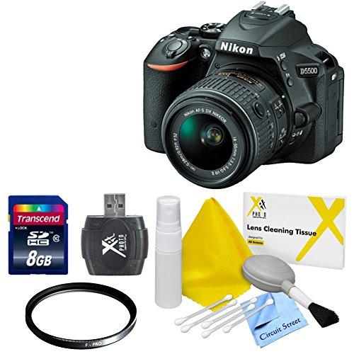 "Digital SLR Camera Accessory 9 pc Kit Canon Nikon Sony 60 /"" Tripod USB Card Reader Memory Card Wallet Lens Cleaning Kit /& Pen Screen Protectors Digital Grey Card Set Professional Blower"
