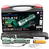 Sidiou Group Super-helle CREE XM-L T6 Skalierbare Taschenlampe CREE Q5
