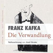 Die Verwandlung Hörbuch von Franz Kafka, Axel Grube Gesprochen von: Axel Grube