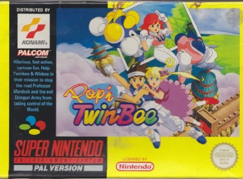 Pop 'N Twinbee (Super Nintendo/PAL/SNES)
