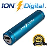 *SUPER SALE* Power Bank - Premium Ultra-Compact Portable Charger (ION Digital 2nd Gen.) - Lipstick-Sized External...