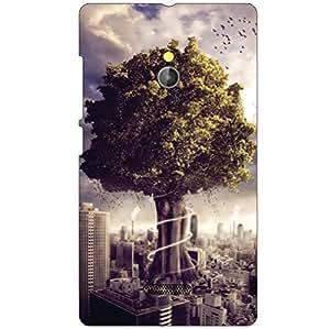 Nokia XL RM-1030/RM-1042 Back Cover - Tree Designer Cases