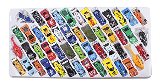 Die-Cast-Metal-Plastic-Toy-Car-a-Massive-Set-of-50-Toy-Cars-Racer-Cars-and-Aircraft