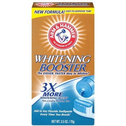 Arm And Hammer Teeth Whitening Booster Toothpaste - 2.5 Oz front-383493