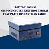 TECHTONGDA Electronic Hot Plate Preheat Preheating Station 110V 800W 20020020mm (Color: Blue)