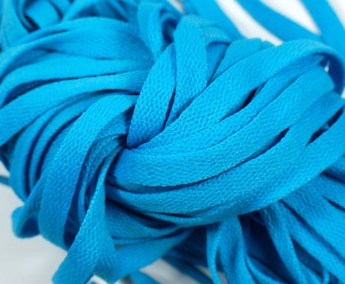 "New! Extreme Sports 45"" Flat Shoelaces Light Blue (1 Pair)"