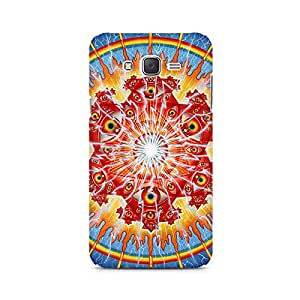 Mobicture Psychedelic Eyes Premium Printed Case For Samsung J7