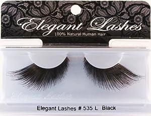 Elegant Long Black False Eyelashes