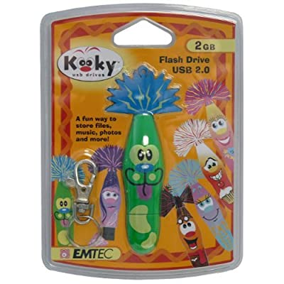 Emtec 2GB Kooky USB Drive WALLY #228