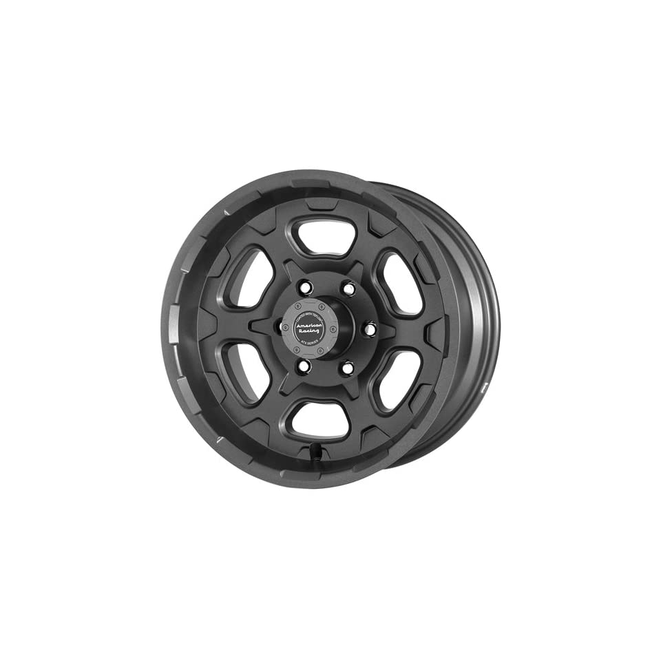 American Racing ATX Chamber 16x8 Teflon Wheel / Rim 6x5.5 with a 0mm Offset and a 78.30 Hub Bore. Partnumber AX39856838
