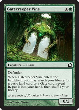 Magic: the Gathering - Gatecreeper Vine (124) - Return to Ravnica by Wizards of the Coast