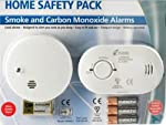 Kidde Carbon Monoxide Detector And Smoke Alarm Pack Compact Ideal For Travel by KIDDE
