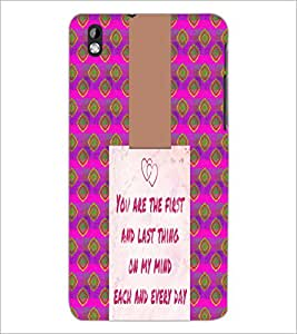 PrintDhaba Quote D-4947 Back Case Cover for HTC DESIRE 816 (Multi-Coloured)