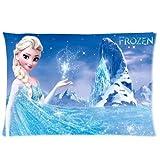 Frozen Disney 3D Cartoon Movie Custom Zippered Pillow Cases 20x30 (Twin sides)- Custom Paradise
