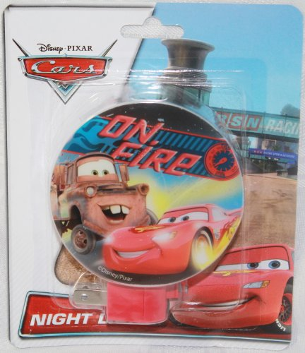 Disney-Pixar Cars, On Fire Night Light