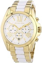 MK5743 Ladies Gold Plated/Ceramic Michael Kors 'Bradshaw' Watch