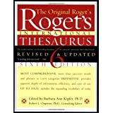 Roget's International Thesaurus, 6th Edition ~ Barbara Ann Kipfer