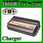 Meind Modified sine wave power inverter 3000W peak 6000Watt 12Volt DC to AC 220Volt with battery charge function