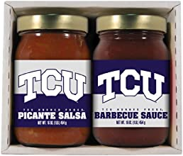 2 Pack TCU Horned Frogs Double Play BBQ Salsa