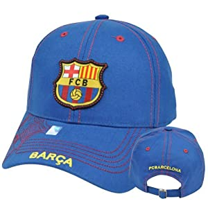 Barcelona Stitches Hat Cap Soccer FCB Barca Gorra C1E08 Spain Espana