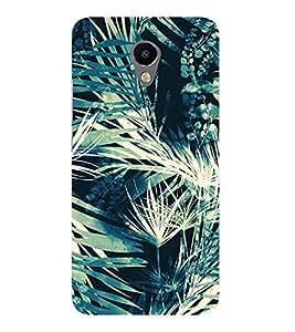 Leaf Tree Pattern Cute Fashion 3D Hard Polycarbonate Designer Back Case Cover for Meizu M3 :: Meizu M 3