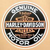ガレージステッカー Harley-Davidson ハーレーダビッドソン シール アメリカン GS-019