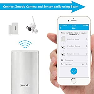 Zmodo All-in-One Wireless Outdoor Indoor Smart Home Security Camera