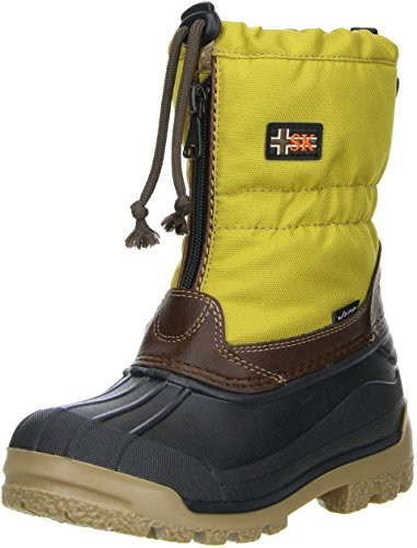 vista-canada-polar-kinder-winterstiefel-snowboots-gelb-doppelgrosse29-30farbegelb