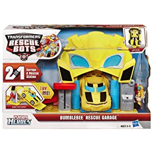 Transformers Bumbletree Rescue Garage Rescue Bots