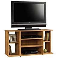 Sauder Beginnings TV Stand, Highland Oak