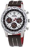Detomaso - SL1624C-CH1 - Montre Homme - Quartz - Chronographe - Chronomètre - Bracelet cuir Marron
