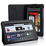 Black Executive Stand Case For The Amazon Kindle Fire Tablet With Magnetic Closureby Yousave