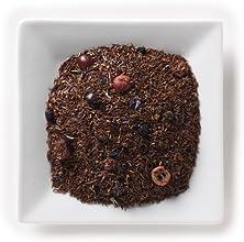 Mahamosa Rooibos Herbal Tea and Tea Infuser Set 4 oz Blueberry Yogurt Rooibos Red Bush Tea 1 Stainle