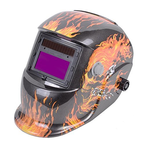 Pro-Solar-Welder-Red-Mask-Auto-Darkening-Welding-Helmet-Arc-Tig-mig-grinding
