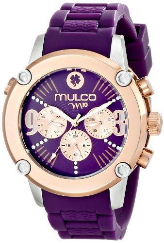 MULCO Women's MW2-28050-056 Analog Display Swiss Quartz Purple Watch