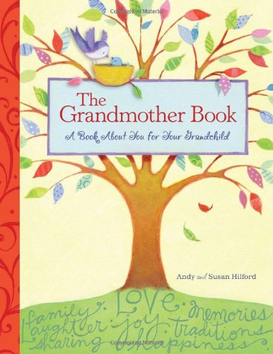 The Grandmother Book: A Book About You For Your Grandchild front-16951