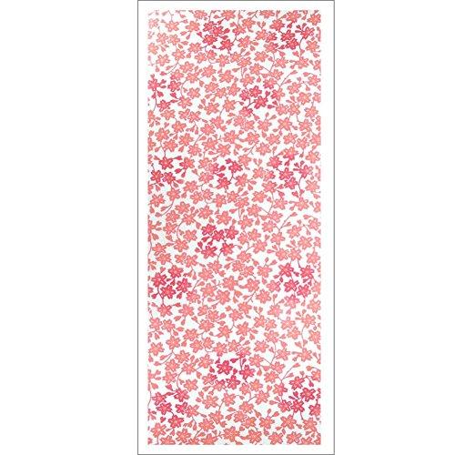 [Edo-Japan Traditional Crafts] High-Quality Made in Japan Chusen Tenugui (Facecloth) Sakura Pattern