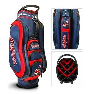 Cleveland Indians MLB Cart Bag - 14 way Medalist by Team Golf