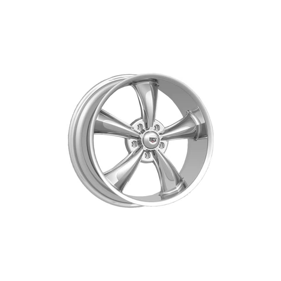 Rev Classic 105 17 Chrome Wheel / Rim 5x4.75 with a 0mm Offset and a 72.7 Hub Bore. Partnumber 105C 7706100