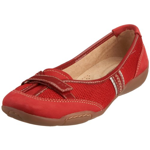 Naturalizer Women's Commerce Flat Santa Red 95478 3 UK