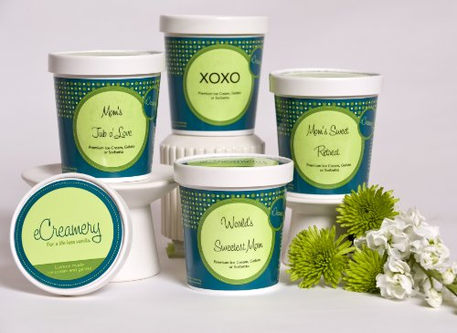 eCreamery Mother's Day Gift - Sorbetto 4 pack