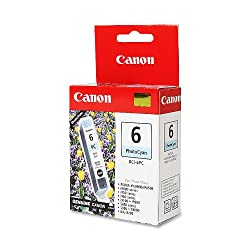 Canon PhotoCyan BCI-6PC Genuine Canon Ink Tank