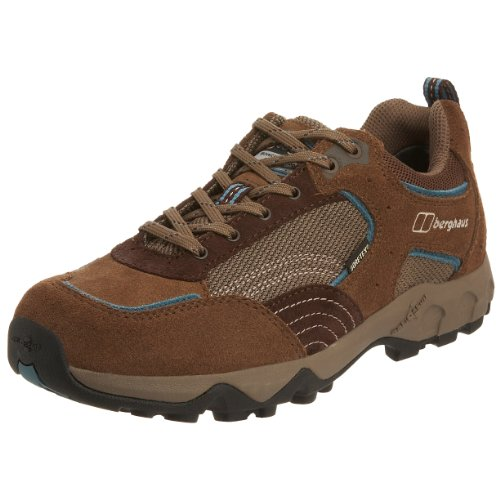 Berghaus Women's WMNS Explorer Low GTX Hiking Shoe Walnut/Storm Blue 80039 W 85 6 UK