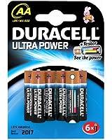 Duracell - Pile Alcaline - AA x 6 - Ultra Power (LR6)