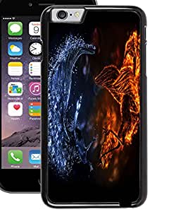 ColourCraft Fire and Ice Dragon Design Back Case Cover for APPLE IPHONE 6S