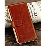 myLife (TM) Cinnamon Chestnut Brown - Classic Dot Design - Textured Koskin Faux Leather (Card and ID Holder +... by myLife Brand Products