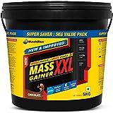 MuscleBlaze Mass Gainer XXL (Chocolate, 5 Kg / 11 Lb)